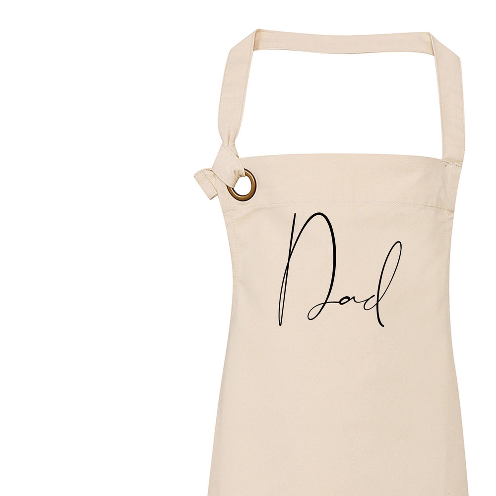 Personalised Apron | Custom Apron | Aprons for Men | Personalised Apron for Him | Personalised Apron for Dads | Father Day Gift Ideas