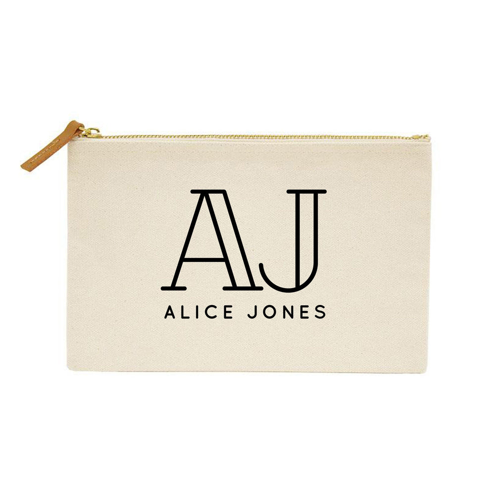 Forty and Fabulous Gift Ideas | 40th Birthday Gift | Personalised Makeup Bag | Custom Makeup Bag | Birthday gift ideas for her | 40th Gift - Glam & Co Designs Ltd