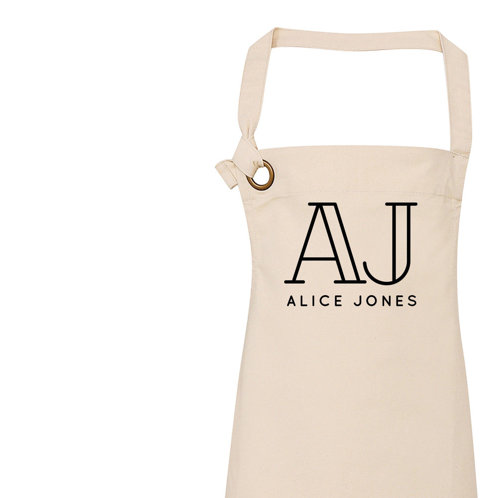 Personalised Apron | Aprons for Women | Vintage Apron | Retro Apron | Custom Apron for Women | Personalised Cook Gift | Gift ideas for Her - Glam & Co Designs Ltd