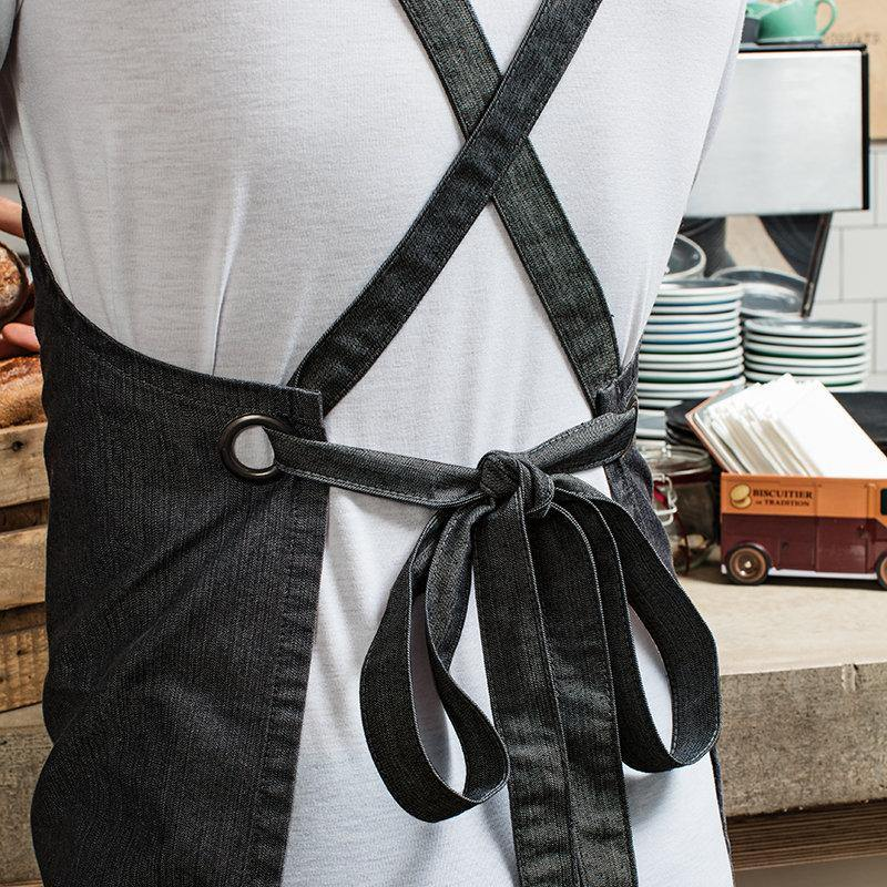 Aprons for Men | Aprons for Women | Barista Style Custom Apron | Cross Back Apron | Design Your Own Custom Apron | Logo Design | Corporate - Glam & Co Designs Ltd