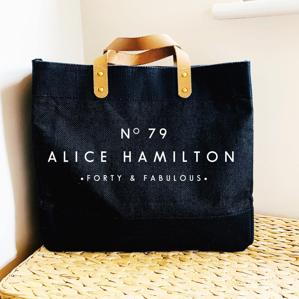 Personalised Bag | Custom Tote Bag | Personalised Shopping Bag | Gift ideas for Her | Custom Beach Bag | Custom Bag | Custom Shopping Bag - Glam & Co Designs Ltd