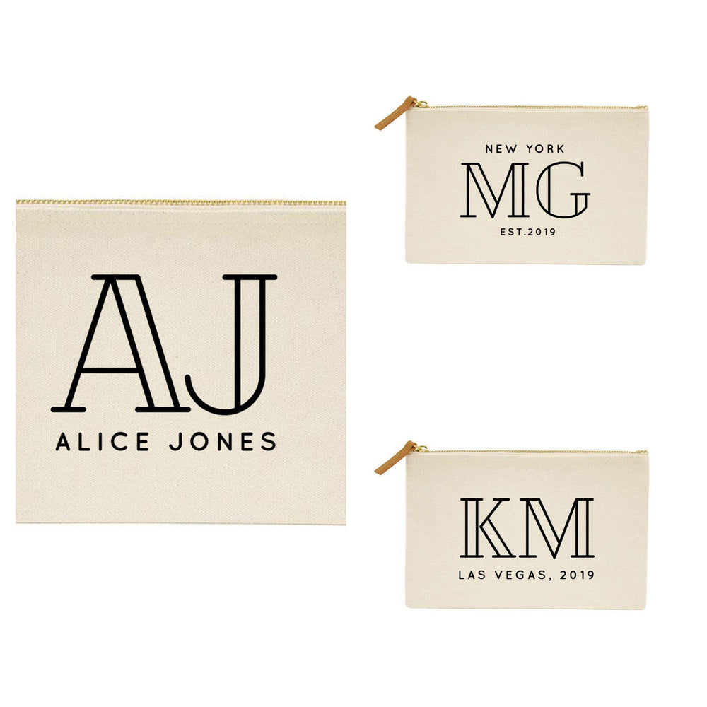 Personalised Make Up Bag | 40th Birthday Gift | Gift Ideas for Her | Custom Makeup Bag | Birthday gift ideas for her | 40th Gift - Glam & Co Designs Ltd