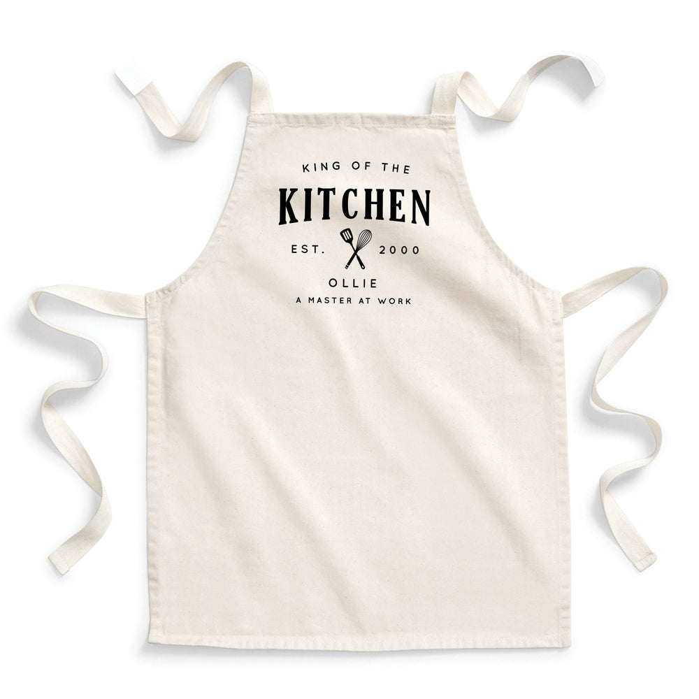 Kids Baking Set | Queen of the Kitchen | Aprons for Kids | Kids Baking Apron | Personalised Kids Baking Set | Personalised Kids Apron - Glam and Co