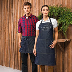 Gift ideas for Him | Aprons for Men | Gift ideas for Her | Aprons for Women | Master Chef Apron | Personalised Denim Apron