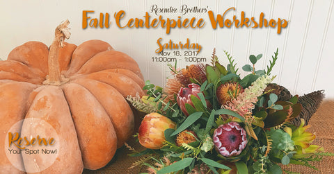 Fall Centerpiece Workshop