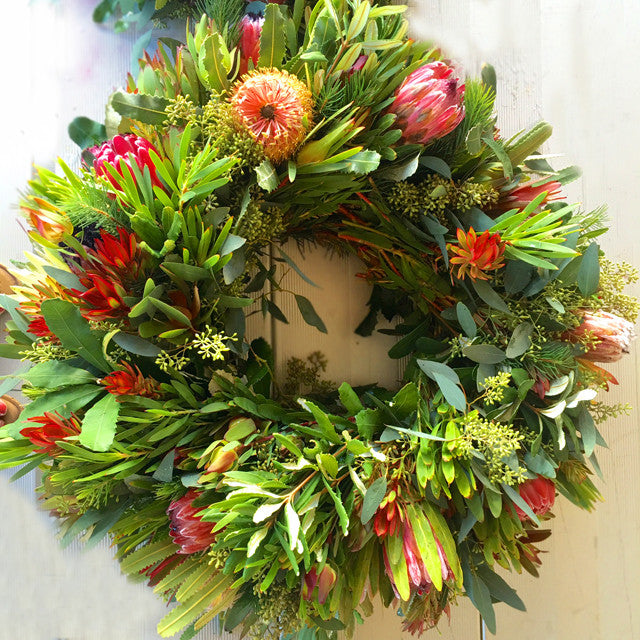 Holiday Bounty Wreath