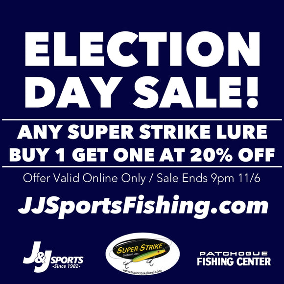 Election Day Special on Super Strike Lures