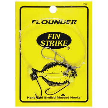 FIN-STRIKE FLOUNDER RIG WITH MUSTAD HOOK