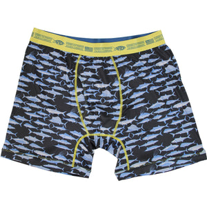 "AFTCO: Tackle Boxer ""Fishway"" - Black"