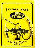 FIN-STRIKE STRIPED BASS CHUNKING RIG WITH MUSTAD HOOKS - JJSPORTSFISHING.COM