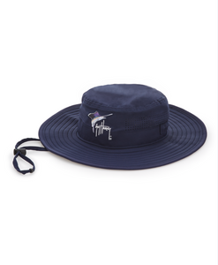 Guy Harvey's Men's Perforated Boon Hat Color: Estate Blue