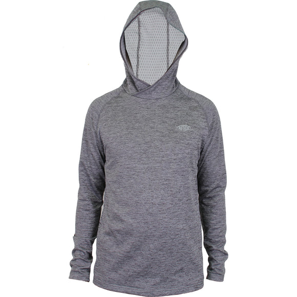 HEXATRON PERFORMANCE HOODIE CHARCOAL HEATHER