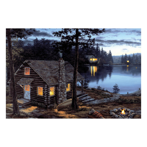 LED ART 24IN X 16IN - CABIN REWARD