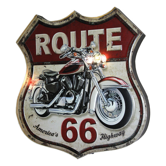LED BAR SIGN - ROUTE 66