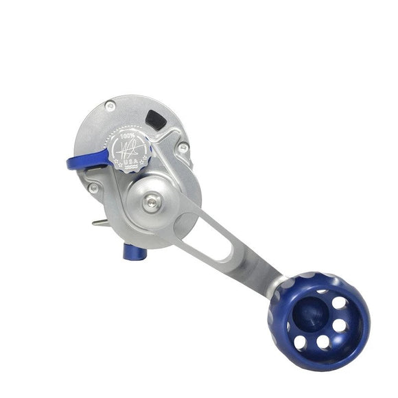 SEIGLER LGN (LARGE GAME NARROW LEVER DRAG REEL) BLUE