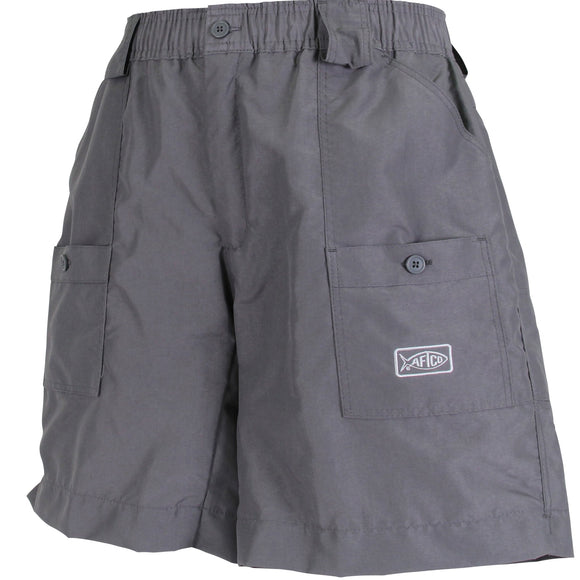 ORIGINAL FISHING SHORTS LONG CHARCOAL