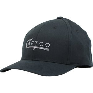 BIG J FLEXFIT HAT BLACK