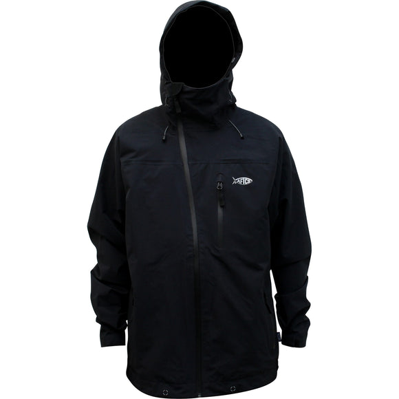 PROTEUS LIGHTWEIGHT WATERPROOF JACKET BLACK