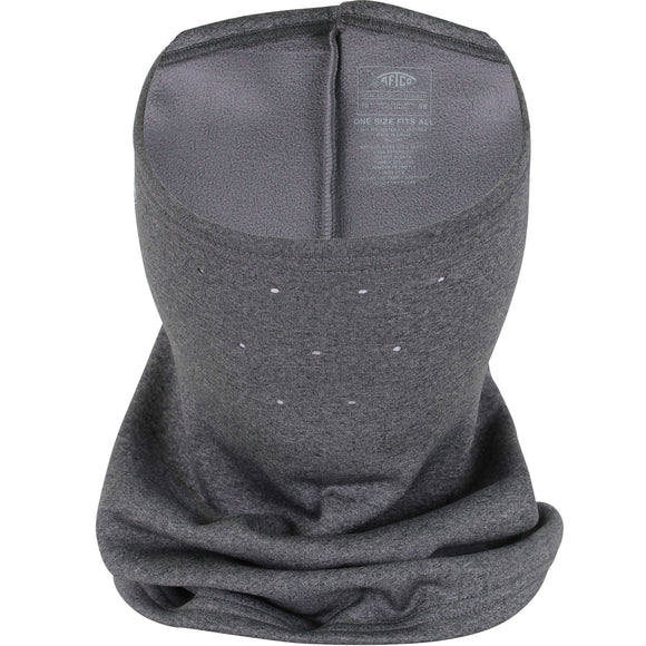 AFTCO REAPER FLEECE FACE MASK CHARCOAL