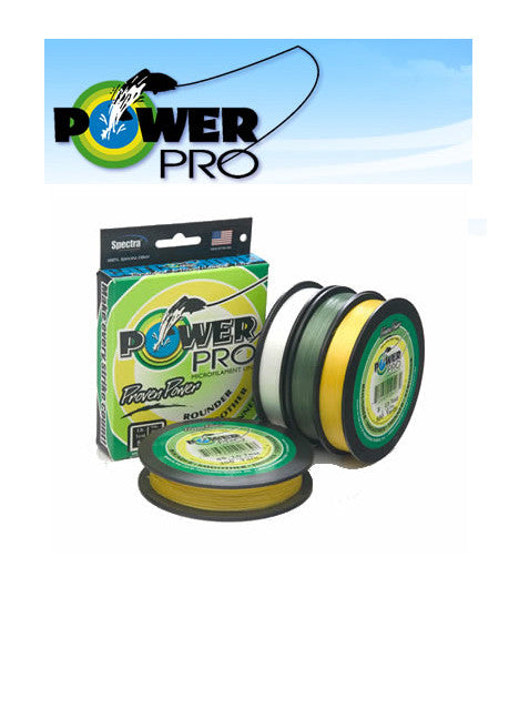 Power Pro Braided Line 300yd 40 pound moss green