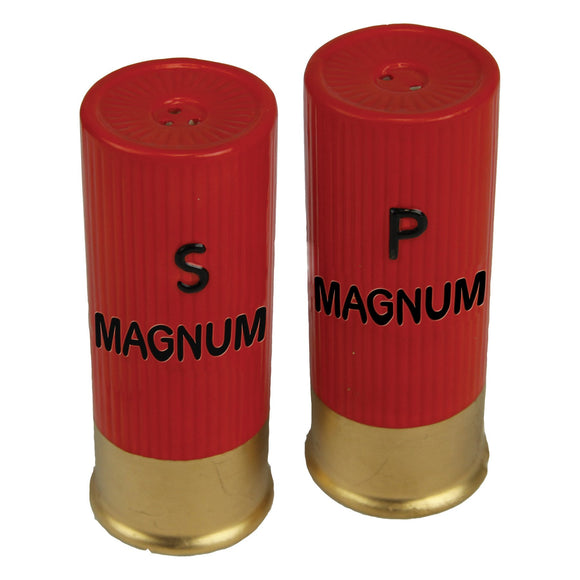 SALT AND PEPPER SHAKERS - SHOT SHELL