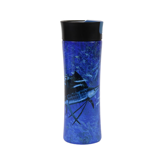 TRAVEL MUG 16OZ SS - SAILFISH
