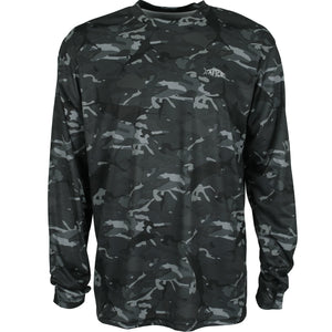 Aftco Caster Long Sleeve Black Camo