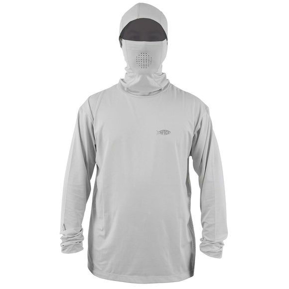 Aftco Fish Ninja Hood Grey