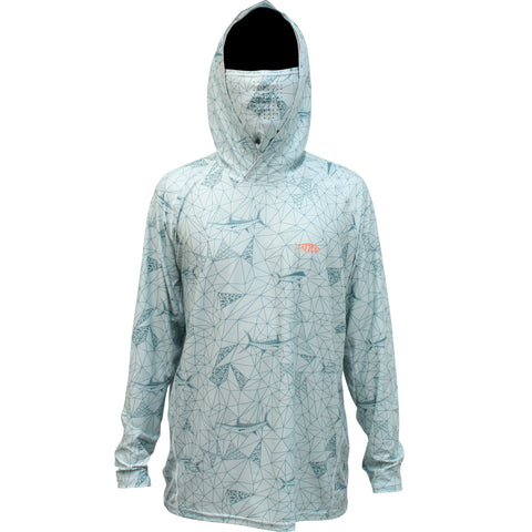 Aftco Meisai Mens Hooded Shirt-MNST