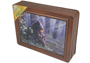 JIGSAW PUZZLE IN TIN 1000 PIECE - BEAR SCENE