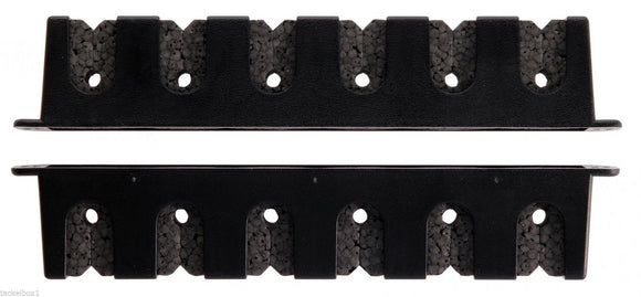 Berkley Rod Rack - Horizontal 6 Rod Black
