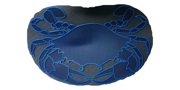 Blue Claw Crab Door Mat for Boat or Home