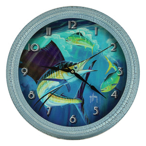 CLOCK 15-INCH - SAILFISH