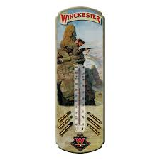 TIN THERMOMETER - WINCHESTER HUNT