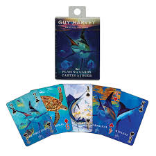PLAYING CARDS - GUY HARVEY