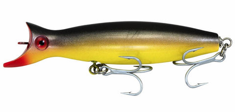 Super Strike Little Neck Swimmer  2-3/8oz Black Yellow