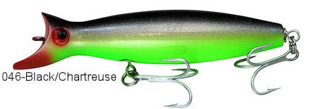 Super Strike Little Neck Swimmer  2-3/8oz Black/Chartreuse