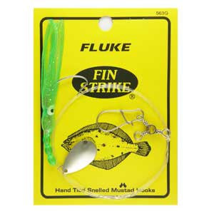 FIN-STRIKE FLUKE RIG WITH MUSTAD HOOK - JJSPORTSFISHING.COM