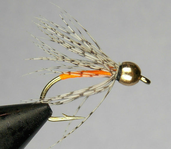 Soft Hackle - Partridge & Orange - Bead Head( Size 10)