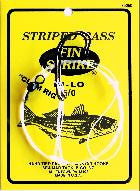 FIN-STRIKE STRIPED BASS HI-LO RIGS WITH MUSTAD HOOKS - JJSPORTSFISHING.COM