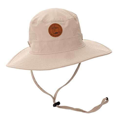 Guy Harvey Men's Perforated Boonie Hat
