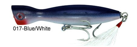 Super Strike Little Neck Popper  2-3/4oz Blue/White