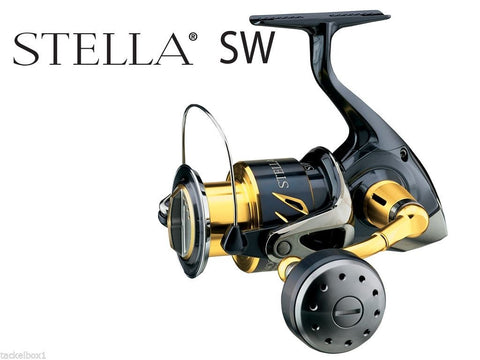Shimano Stella STL5000SWBPG with FREE Braided Line