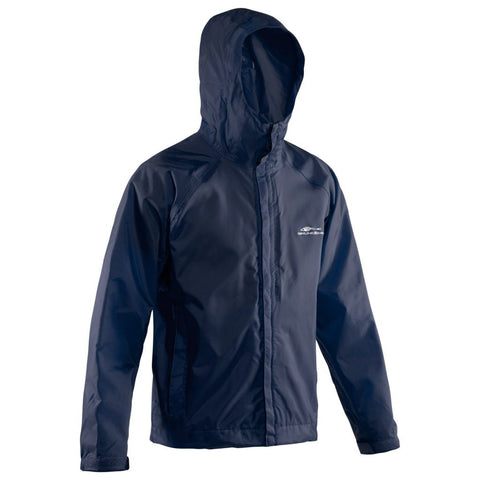 WEATHER WATCH HOODED SPORT FISHING JACKET NAVY
