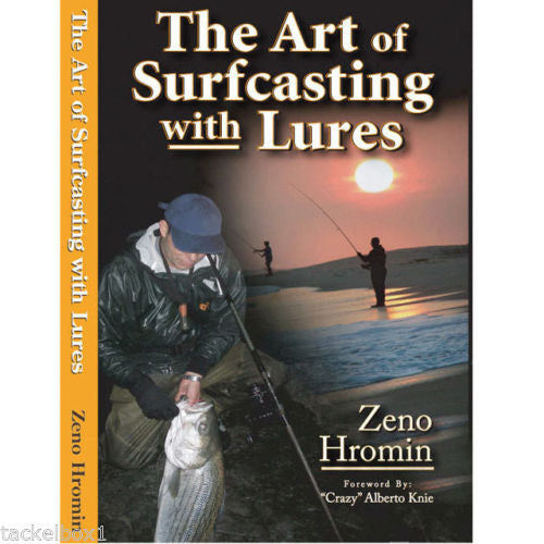 The Art of Surfcasting with Lures by Zeno Hromin Book - JJSPORTSFISHING.COM