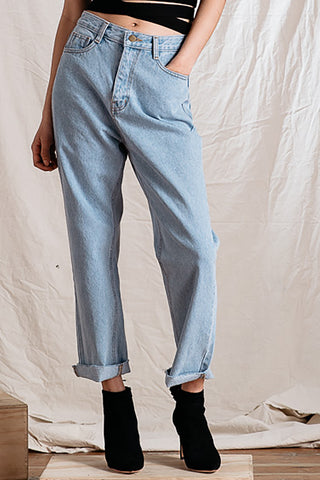 High Rise Relaxed Denim