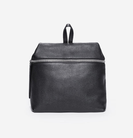 Backpack in Pebble Leather
