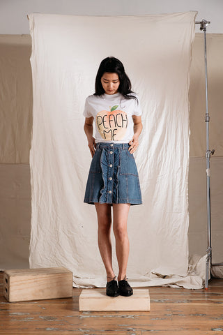 Benedict Denim Skirt