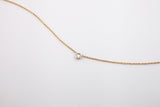 Hortense Jewelry Flirty Diamond Necklace Yellow Gold