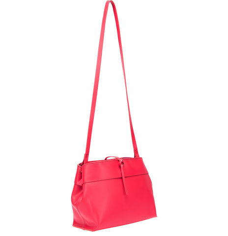 Tie Crossbody in Poppy Red